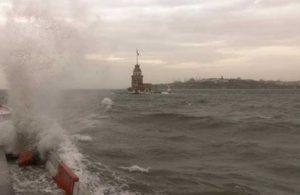 Meteoroloji'den İstanbul'a fırtına uyarısı
