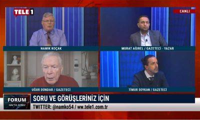 Uğur Dündar, İsmail Saymaz, Murat Ağırel, Timur Soykan Forum Hafta Sonu'nda
