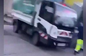 Çaldığı kamyonla yayaların arasına daldı: 1 ölü, 1 yaralı