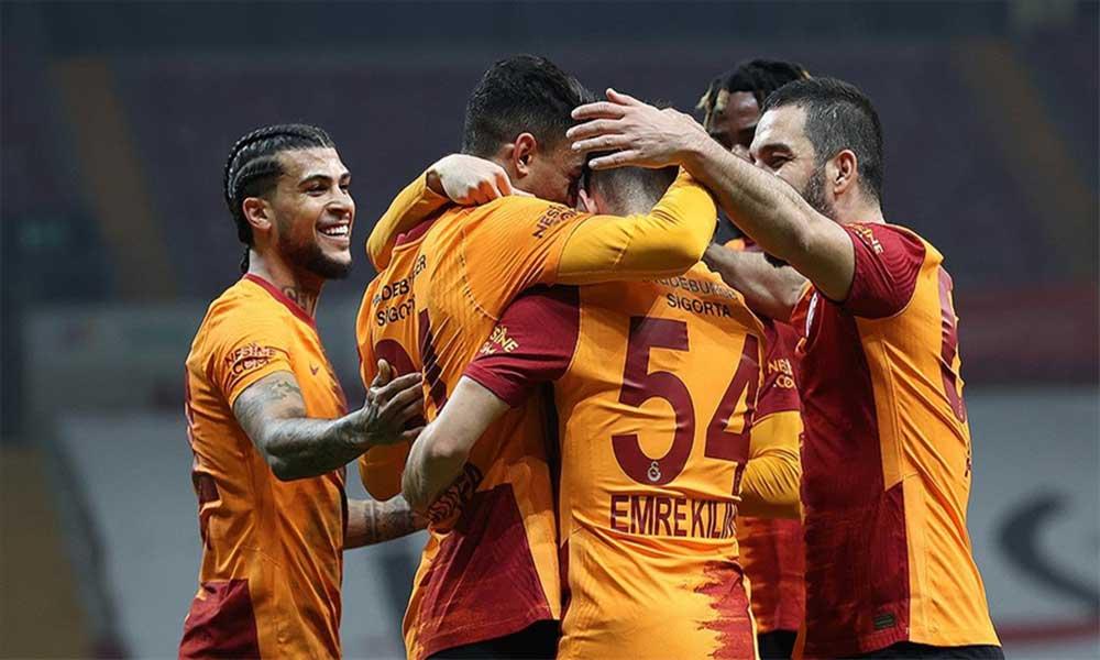 Galatasaray galibiyet serisini 8 maça çıkardı