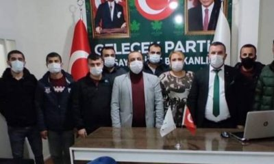 Gelecek Partisi Nusaybin İlçe Örgütü istifa etti