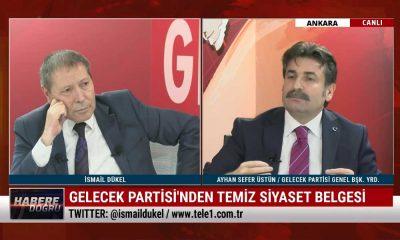 Gelecek Partili Ayhan Sefer Üstün: Artık kanun devleti arar olduk – HABERE DOĞRU