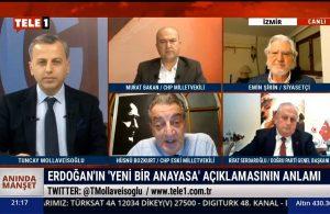 Hüsnü Bozkurt: Ben 'yeni anayasa'yı konuşmayı reddediyorum!