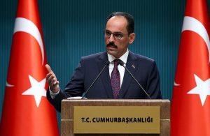 AKP'li Kalın'dan AB Komisyonu'na tepki