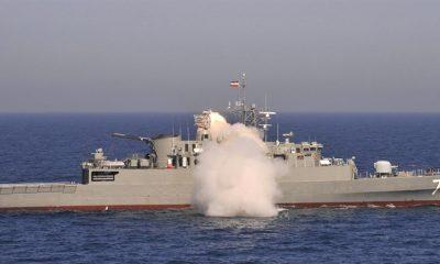 """Umman Körfezi'nde İsrail gemisini, İran vurdu"""
