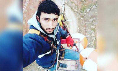 Yüksek gerilim hattından düşen işçi hayatını kaybetti