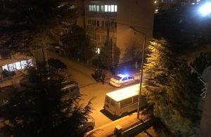 Evde, ışık aç-kapa eylemine polis müdahale etti