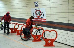İstanbul'da metrolara Bisiklet Parkı geliyor!