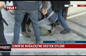 Türkiye'den Amerika'daki polis müdahalelerini aratmayan görüntüler!