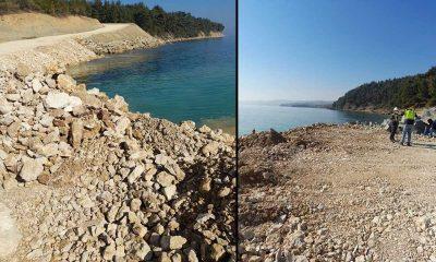 Bir çevre katliamı! Saros'da tüm raporlar aleyhlerine çıktı ama inşaata devam ediyorlar