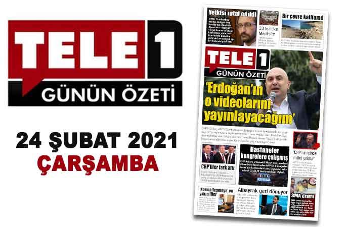 """'Erdoğan'ın o videolarını yayınlayacağım'. Yetkisi iptal edildi. 33 fezleke Meclis'te. Bir çevre katliamı!. """"CHP'nin içinde millet yoktur"""". Albayrak geri dönüyor. 24 Şubat 2021 Günün Özeti"""