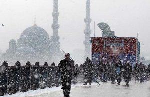 İstanbul Valiliği'nden yeni kar yağışı uyarısı