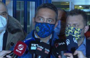 Ali Koç soru soran gazeteciye kızdı: Gel sen konuş istersen