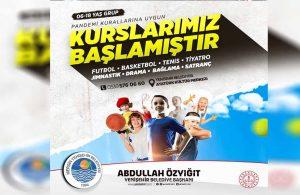 Yenişehir'de sanat ve spor kursları başlıyor