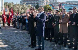 Atatürk'ün, Kuşadası'na gelişinin yıl dönümü kutlandı