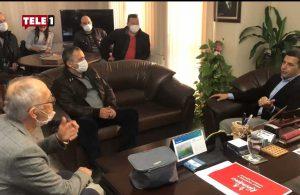Başkan Ömer Günel'den Şoförler Odası'na ziyaret