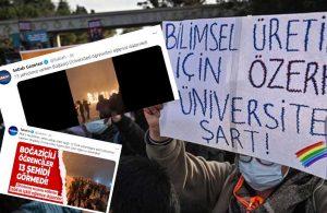 Yandaşlar 13 şehit üzerinden Boğaziçi'ni hedef aldı