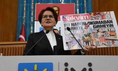 Yandaş Takvim, Meral Akşener'e çirkin ifadelerle hakaret etti