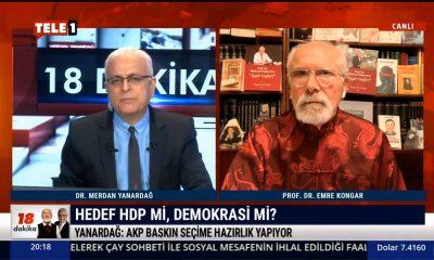 Merdan Yanardağ: HDP'ye dokunulursa sıranın CHP'ye geleceği açık
