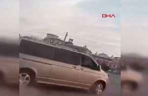 Panelvan minibüsle drift yaptı, 6 bin 700 lira ceza aldı