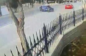Motosiklet sürücüsü yaşamını yitirmişti! Kazanın görüntüleri ortaya çıktı