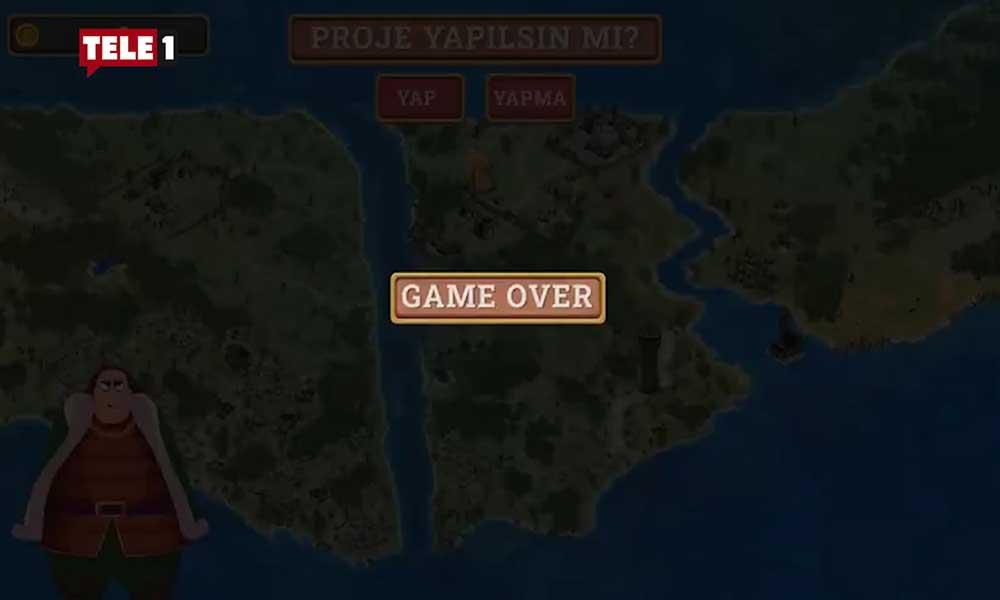 İBB'den, Erdoğan'a Kanal İstanbul göndermesi: 'Game Over'