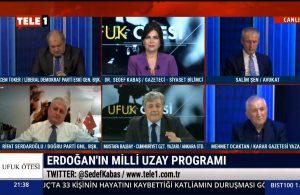 Mustafa Balbay: AKP bilime saldırırken, 'Ay'a gideceğim' diyor