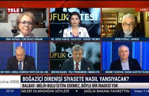 Mustafa Balbay: Melih Bulu istifa edemez!