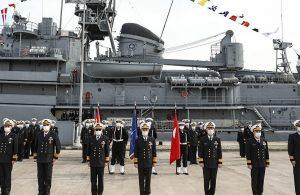 NATO'nun Deniz Görev Grubu-2'nin komutası Türkiye'ye geçti