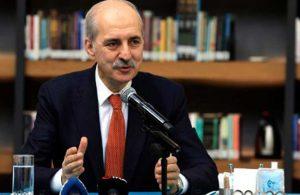 Numan Kurtulmuş: Anayasa tek başına AK Parti'nin yapacağı bir şey değildir