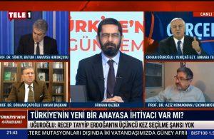 Orhan Uğuroğlu, çarpıcı kulisi TELE1'de açıkladı: Erdoğan bundan çok rahatsız