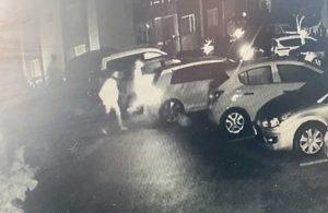 Pendik'te otomobil çalan hırsızlar böyle görüntülendi