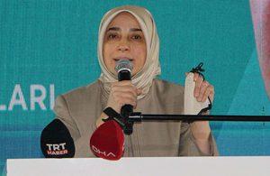 AKP'li Özlem Zengin: Kim benim ifade özgürlüğümün önünde engel olabilir