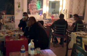 Pavyona çevrilen 2 kafeye baskın! 40 kişi yakalandı