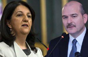 HDP Eş Başkanı Pervin Buldan'dan Süleyman Soylu'ya yanıt: Kesinlikle gerçek dışıdır