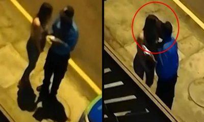 Polisten sokağa çıkma yasağını delen kadına ceza yerine öpücük