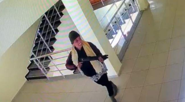 Jandarmayı ısırıp pompalı tüfekle dehşet saçan kadın, tutuklandı