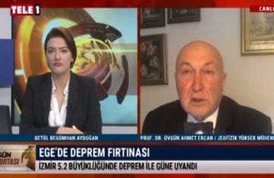 Prof. Dr. Ercan uyardı: Deprem sağanağı devam edecek gibi gözüküyor