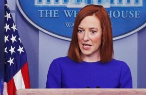 Beyaz Saray Sözcüsü Psaki, 'Space Force'u uçak zannetti