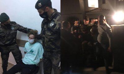Firari tecavüzcü Rus polis müfettişine, film gibi operasyon