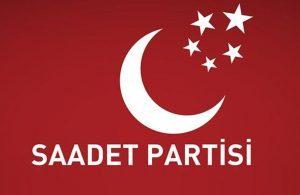 Saadet Partisi'nde istifa depremi!