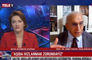 Ahmet Saltık: Okulları açmayı aklınızdan bile geçirmeyin, yangına körükle gitmeyin