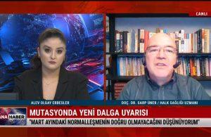 İstanbul 'normalleşme'ye hazır mı? Prof. Dr. Sarp Üner açıkladı – TELE1 ANA HABER
