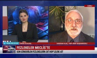 HDP'li Saruhan Oluç: HDP'yi hedefe alarak planları var, bunları gerçekleştirmeye çalışıyorlar – TELE1 ANA HABER