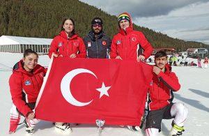 Milli kayakçı Sıla Kara'dan bronz madalya