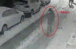 'Su sayacı' hırsızı güvenlik kameralarına yakalandı