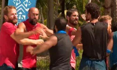 Survivor'da sinirler gerildi! Ünlüler ve gönüllüler birbirine girdi