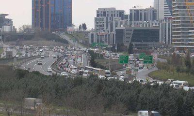 Kısıtlama öncesi trafik yoğunluğu yüzde 60'a ulaştı!