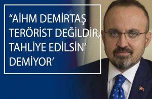 YİK üyesi Cemil Çiçek 'Demirtaş derhal tahliye edilmeli' açıklamasına AKP'den yanıt