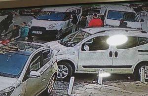 Turiste saldırı anları güvenlik kamerasına yansıdı
